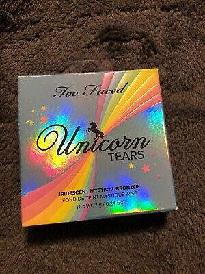 AU25.24 • Buy Too Faced Unicorn Tears Iridescent Mystical Bronzer -100% Authentic- New & Boxed