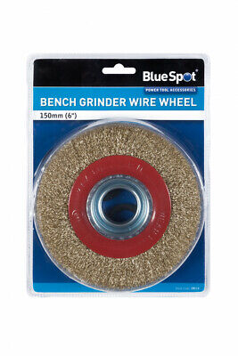 150mm 6  Wire Wheel For Bench Grinders - Bore 12 16 20 22 25 32 Mm • 9.99£