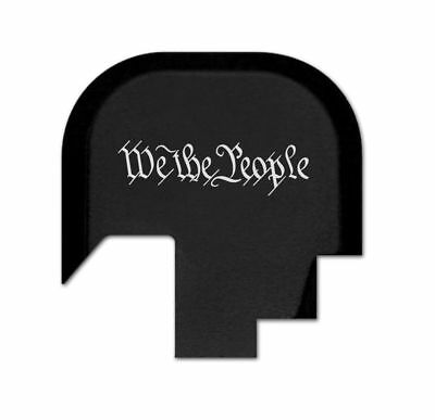 $15.19 • Buy Rear Slide Gun Back Plate For Smith Wesson M&P 9/.40 Shield - We The People Text