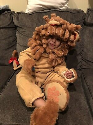 £14.55 • Buy Incharacter Lil Lion Costume Baby Halloween Outfit Medium 18-24 Months SOFT