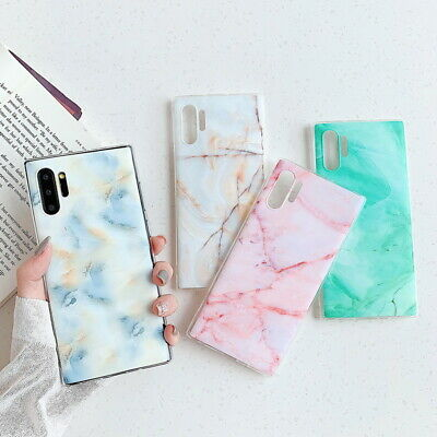 $ CDN3.77 • Buy For Samsung Galaxy S21 A70 S20 FE Note 20 Marble Soft Silicone Slim Cover Case