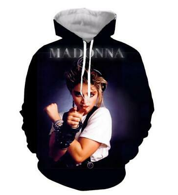 $ CDN32.47 • Buy Fashion Women/Men's Young Madonna 3D Print Hoodies Sweatshirt Pullover
