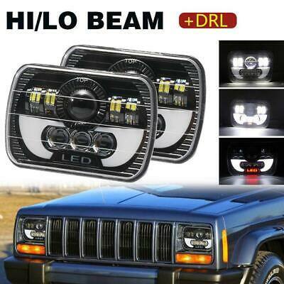 AU106.63 • Buy 5X7  7x6  Rectangle LED Headlight For Ford F250 F350 F450 F550 Super Duty 2Pcs
