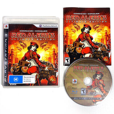 AU13.95 • Buy Command & Conquer: Red Alert 3 Ultimate Ed PS3 PlayStation 3 With Manual NTSC