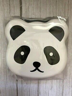 NEW! Japan Bento Lunch Box Set PANDA Shaped Snack Case Food Container  • 13.47£