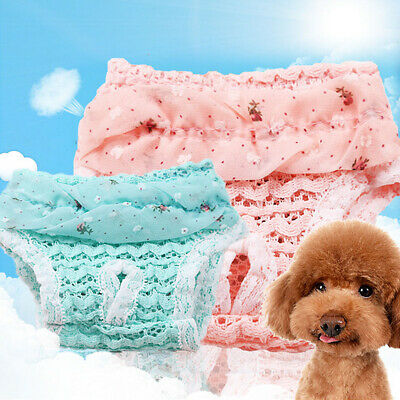 Washable Pet Dog Physiological Pants Diaper Panties Underwear For Female Dogs UK • 2.88£