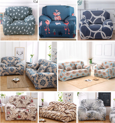 AU29.99 • Buy Easy Fit Sofa 1/2/3/4 Seaters Covers Couch Lounge Slipcover Stretch L Shape Sofa