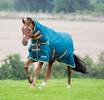 Shires Highlander Plus 350g Winter Fill Combo Neck Outdoor Horse Turnout Rug • 81.95£