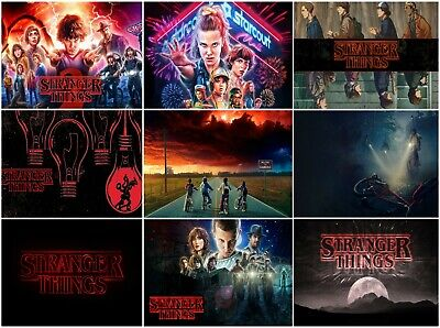 A2 A3 A6 SIZE Stranger Things 2 POSTER Movie Film Series Wall Decor Art Print