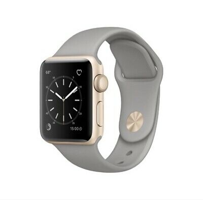 $ CDN225.22 • Buy Apple Watch Series 2 GOLD 42mm With Scratches On The Screen