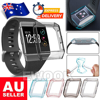 AU5.85 • Buy For Fitbit Ionic Screen Cover Case Anti-Explosion Watch Protector Waterproof TPU