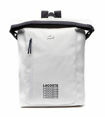 LACOSTE Roll Backpack White Peacoat • 131.30£