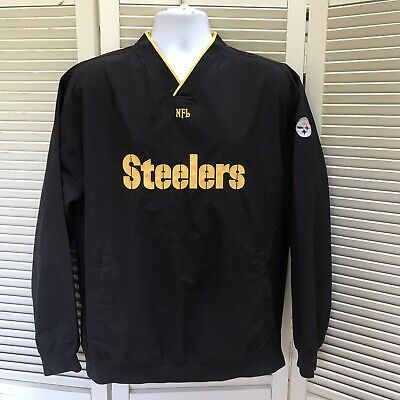 new product ee42f baa9f steelers jacket xl