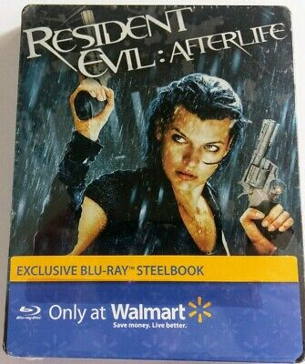$8.99 • Buy Resident Evil Afterlife (2010 Blu-Ray Steelbook) Milla Jovovich NEW Sealed