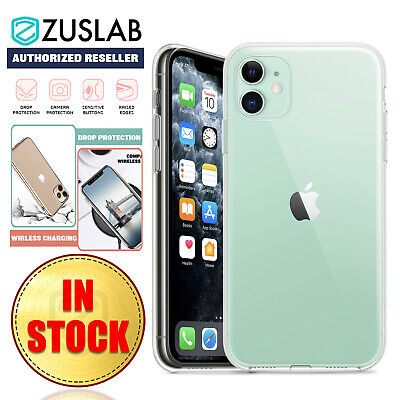 AU6.25 • Buy IPhone 11 Pro Max XS MAX XR XS X Case ZUSLAB Premium Soft Clear Cover For Apple