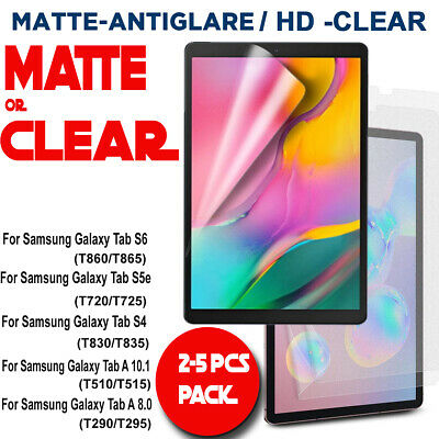 AU5.99 • Buy Matte/Clear Screen Protector For Samsung Galaxy Tab S6 10.5 A 8.0 10.1 2019 S5e