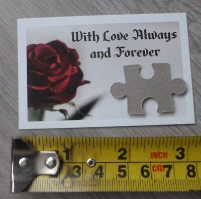 For The One I Love*you Are My Missing Jigsaw Piece*romantic Novelty Gift*romance • 0.99£