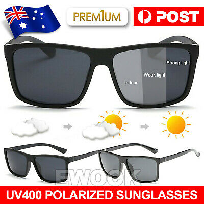 AU14.95 • Buy Polarized Mens Sunglasses Polarised New Style Square Frame Glasses Aus Seller