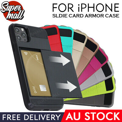 AU7.49 • Buy IPhone 11 Case Pro MAX IPhone 6 7 8 Plus Card Holder Cover HT IPhone X XR XS MAX