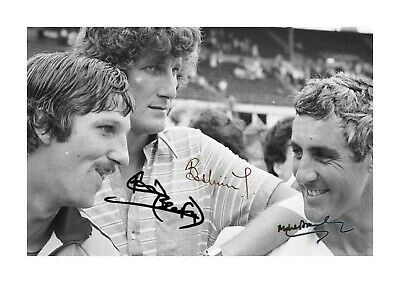 Ian Botham Willis Headingley 1981 A4 Reproduction Signed Poster Choice Of Frame • 6.95£