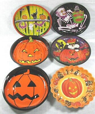$ CDN10.60 • Buy Vintage Halloween Plastic Molded Candy Serving Bowl/Dish & Plush JOL Head Toy