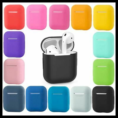 AU4.75 • Buy Shockproof Case Silicone Cover Tough Gel Holder For Apple Airpods 1 2 Airpod NEW