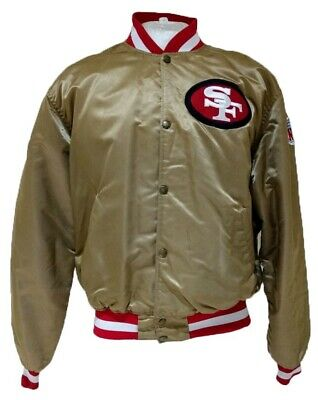 low priced 7fcfd f237c 49ers starter jacket