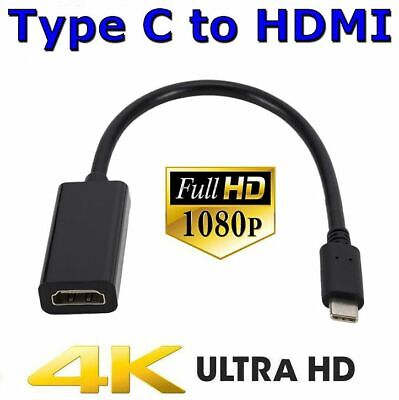 AU9.25 • Buy Type C USB-C 3.1 To HDMI Adapter Cable Converter For Samsung S8 S9 Plus S10 S10e