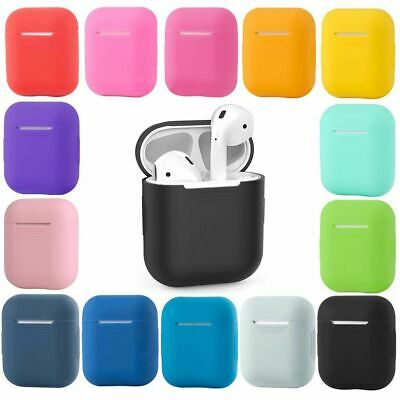 AU4.75 • Buy Shockproof Case Silicone Cover Gel Skin Holder For Apple Airpods Airpod 1 2 NEW