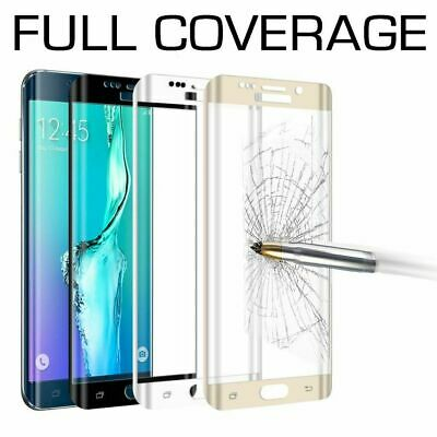 AU6.95 • Buy Tempered Glass Full Cover Screen Protector For Samsung Galaxy S9 S10 E 5G Plus