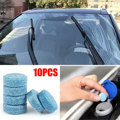 $ CDN1.85 • Buy 10pcs/pack Car Windshield Cleaning Fluid Compact Effervescent Tablets Detergent