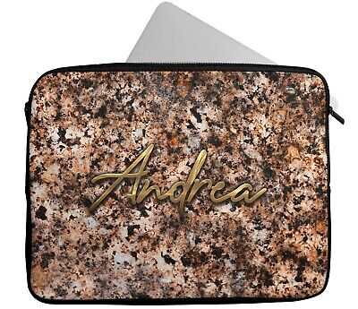 £15.99 • Buy Personalised Any Name Background Laptop Case Sleeve Tablet Bag Chromebook Gift 6