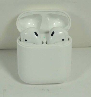 $ CDN106.27 • Buy Excellent Used Apple AirPods 2nd Gen W/Wireless Charge Case MRXJ2AM/A Headphones