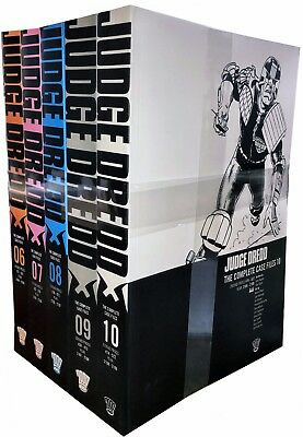 Judge Dredd: Complete Case Files Volume 6-10 Collection 5 Books Set (Series 2)  • 55.99£