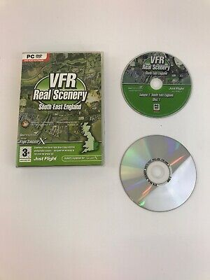 VFR Real Scenery Vol 1 (South East England) - FSX Add On (PC Windows XP/10) • 10.99£