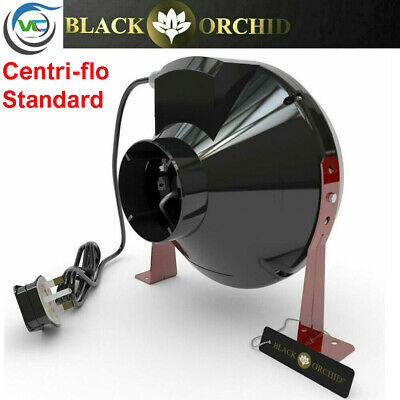 Black Orchid Grow Room Tent  Hydroponic Inline Centrifugal Extractor Fan - ALL • 40.73£