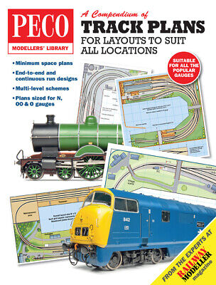 Peco Track Plans For Layouts To Suit All Locations Model Railway PM-202 • 5.95£