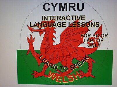 Learn To Speak Welsh Interactive Disc For P.c. And Laptop Only • 3.50£