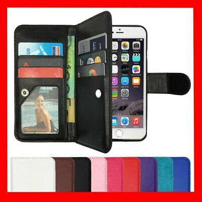 AU9.89 • Buy Leather Flip Case Wallet Stand Cover For Apple IPhone 11 Pro Max X 5 6 7 8 Plus