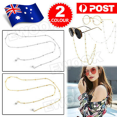AU3.90 • Buy Unisex Eye Glasses Sunglasses Spectacles Eyewear Chain Cord Lanyard Holder Strap