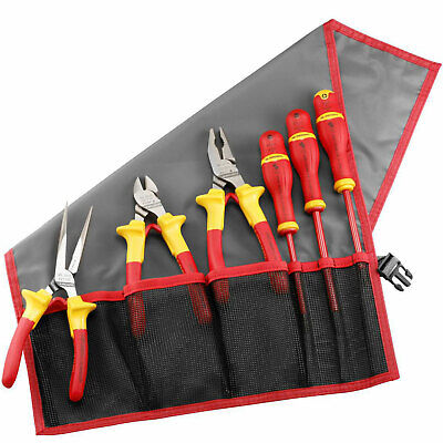 Facom 184.J5VE 6 Piece Electricians Insulated Tool Kit • 135.95£