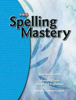 AU60.94 • Buy Spelling Mastery, Series Guide By McGraw-Hill (English) Paperback Book Free Ship