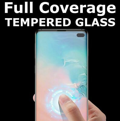 AU2.69 • Buy Tempered Glass Screen Protector For Samsung Galaxy S10 Plus 5G E S9 S8 S7 Edge