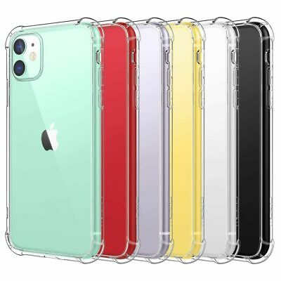 AU5.45 • Buy Shockproof Tough Gel Clear Case Cover For Apple IPhone 11 Pro Max 7 8 Plus X 12
