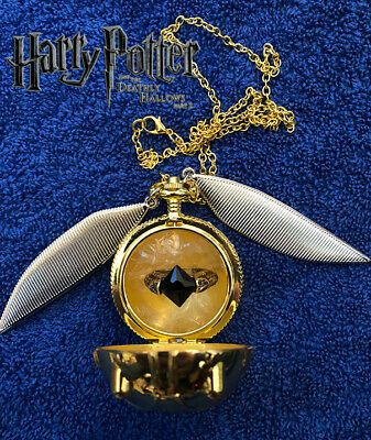 $34 • Buy Opening Golden Snitch & Resurrection Stone Ring, Harry Potter, Wizarding World