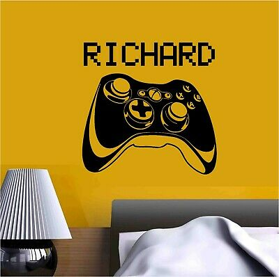 $ CDN22.55 • Buy Video Game Xbox Joystick Personalised Name Or Gamer Tag Vinyl Sticker Decal