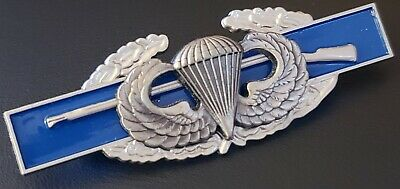 $19.99 • Buy BASIC JUMP WINGS US Army Combat Infantry Badge CIB Airborne Military Rifle Pin