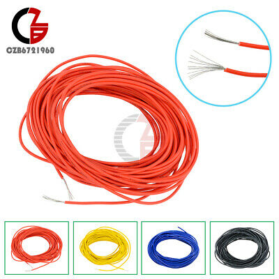 AU6.67 • Buy 24 AWG Cable Flexible Stranded Of UL-1007 Wire 10M 32.8Feet 80°C/300V Cord