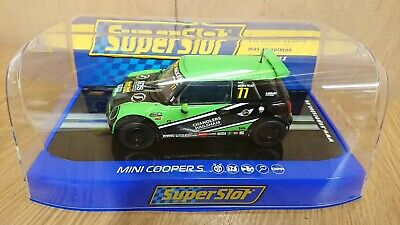 SCALEXTRIC Superslot H3743 Mini Cooper S Mini Challenge 2015 Neil Newstead NEW  • 34.95£