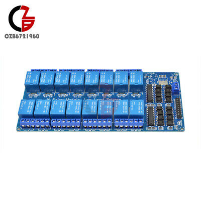 AU13.84 • Buy 16-Channel 5V Relay Board Module W/ Optocoupler Power Supply Arduino PIC ARM